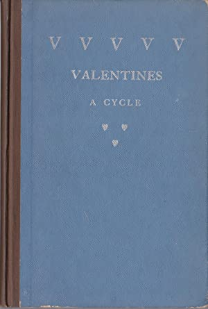 VVVVV [25] Valentines and Various Verses [deluxe issue of 20 copies, inscribed to the author's da...
