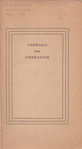 Forward from Liberalism [proof copy]