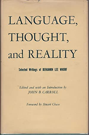 Language, Thought, and Reality: Selected Writings [Canadian issue]