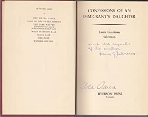 Confessions of an Immigrant's Daughter [Canadian issue inscribed]