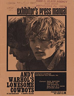 Andy Warhol's Lonesome Cowboys [pressbook]
