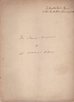The Huron-Iroquois of Canada, a Typical Race of American Aborigines [inscribed to Horatio Hale]