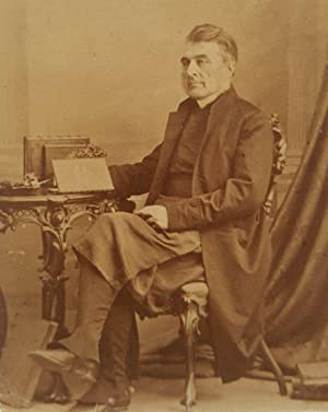 ANTIQUE WILLIAM NOTMAN BISHOP FULFORD MONTREAL CANADIAN HISTORY 1865 CDV PHOTO