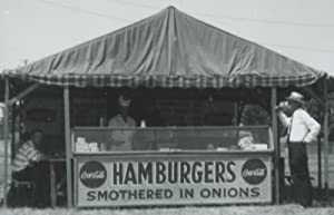 VINTAGE HAMBURGERS SMOTHERED IN ONIONS LOVE COCA COLA SIGNS FOOD SHACK PHOTO