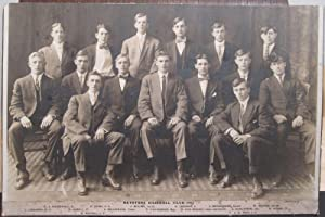 ANTIQUE VINTAGE 1911 KEYSTONE BASEBALL TEAM ID'D PLAYERS MAMMOTH RARE PHOTOGRAPH