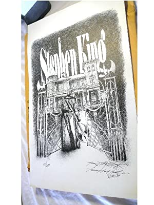 Art print based on King's character Randall Flagg: Kenny Ray Linkous (Stephen King)