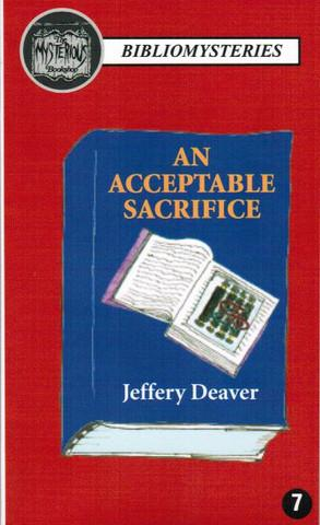 An Acceptable Sacrifice (BRAND NEW PRISTINE HARDCOVER COPY)--SIGNED & LIMITED EDITION OF ONLY 100...