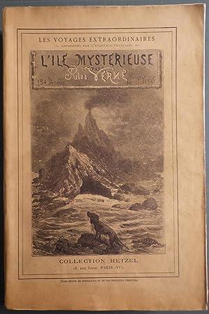 Les Voyages Extraordinaires. L'Ile Mystérieuse. Illustrée de: VERNE (Jules).