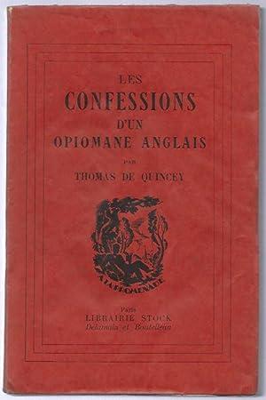 Les confessions d'un opiomane anglais.: QUINCEY (Thomas de).