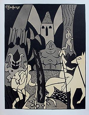 Poèmes illustrés de vingt lithographies en couleurs: LAFORGE (Lucien)] -