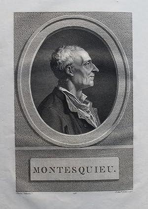 Oeuvres.: MONTESQUIEU (Charles-Louis de