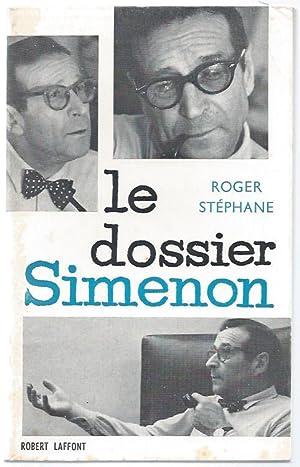 Le dossier Simenon.: SIMENON (Georges)] -