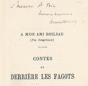 Contes de derrière les fagots.Illustrés par Félix Lacaille.: SILVESTRE (Armand...