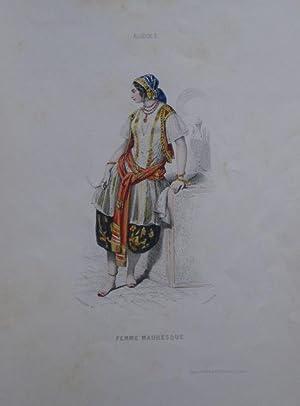 Le Keepsake de Costumes. Dessins de Compte Calix, gravés sur Acier. Album offert aux abonn&...
