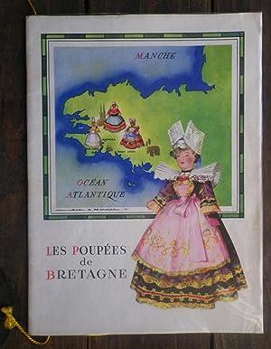 Les Poupées de Bretagne. Illustration de Jean Adrien Mercier, texte de Fanch Gourvil.: ...