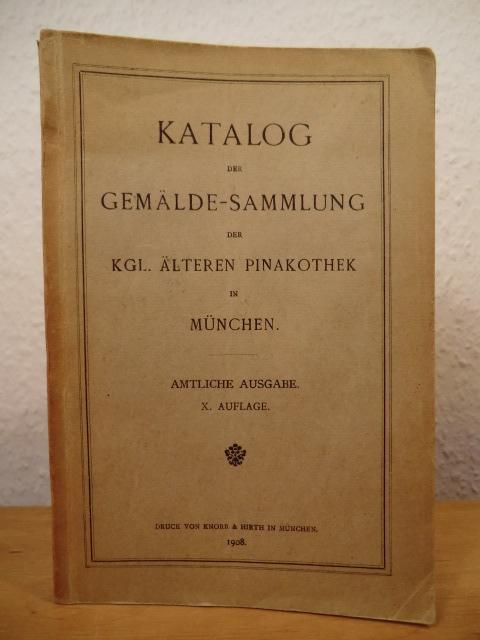 Katalog Der Gemälde Sammlung Gemäldesammlung Der Königlichen
