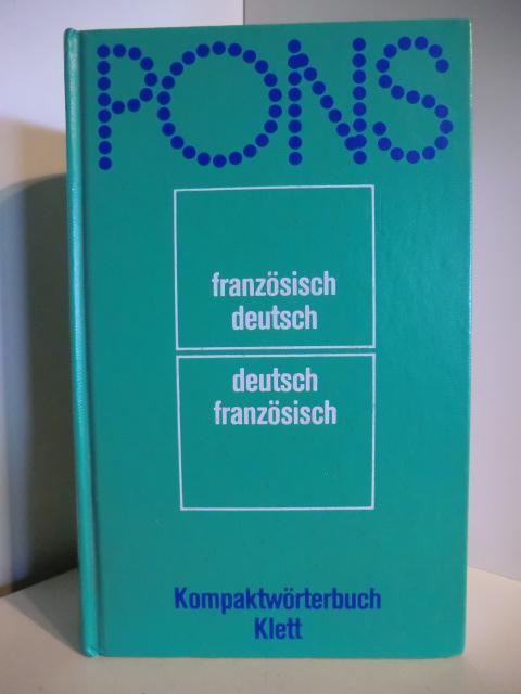pons kompaktwoerterbuch franzoesisch von weis zvab. Black Bedroom Furniture Sets. Home Design Ideas