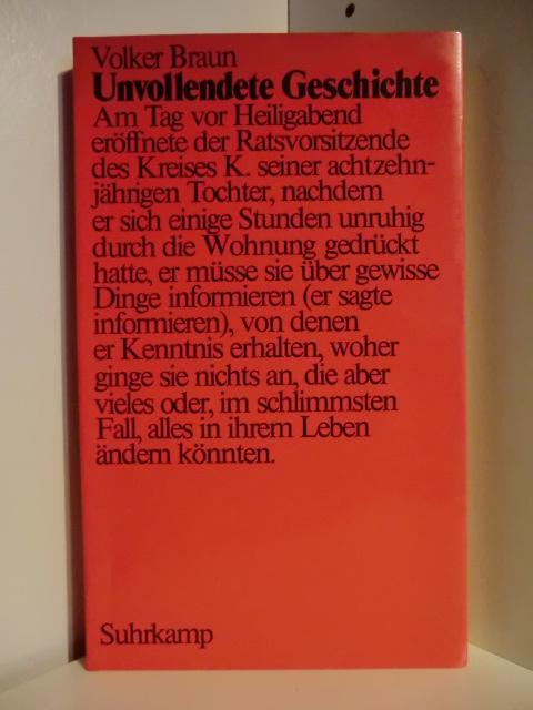 Unvollendete Geschichte: Braun, Volker