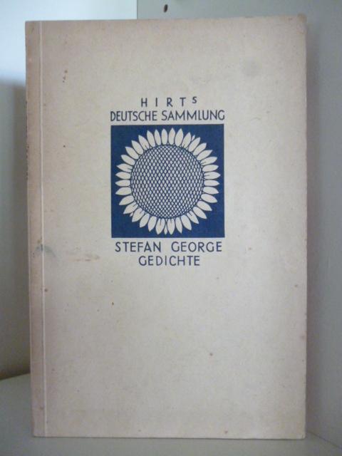 Hirts Deutsche Sammlung Stefan George