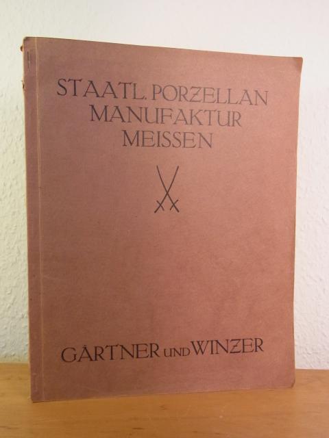 Meissen Katalog Zwiebelmuster Dreisprachig Antiquitäten & Kunst
