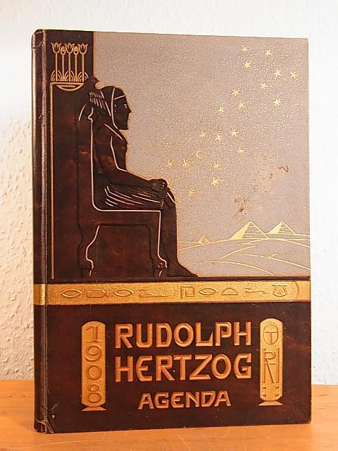 5472f91a0544fc Kaufhaus Rudolph Hertzog Berlin. Agenda 1908 von Kaufhaus Rudolph Hertzog  Berlin und Paul Lindenberg (Text)   Berlin  Rudolph Hertzog