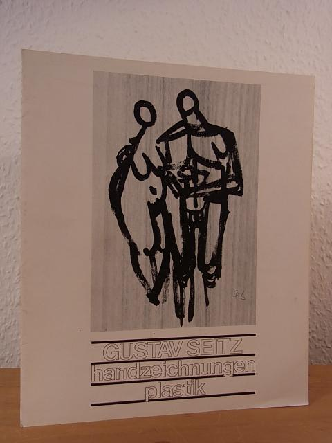 Gustav Seitz. Handzeichnungen, Plastik. Ausstellung Kunststudio Westfalen-Blatt,: Seitz, Gustav: