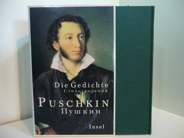 Die Gedichte Russisch Und Deutsch By Puschkin Alexander