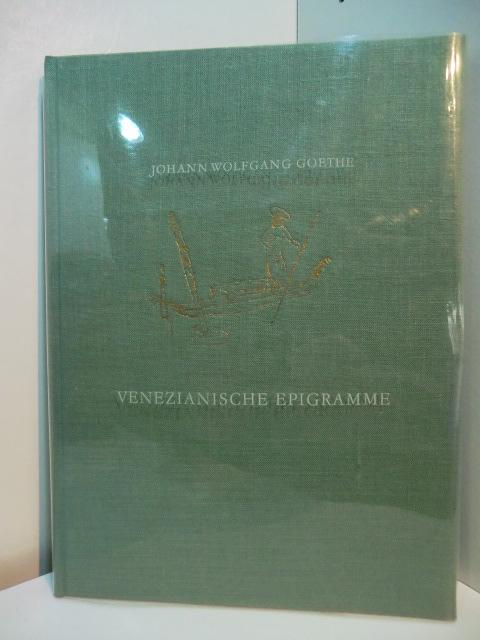 Venezianische Epigramme. Venedig 1790. Illustriert von Max: Goethe, Johann Wolfgang