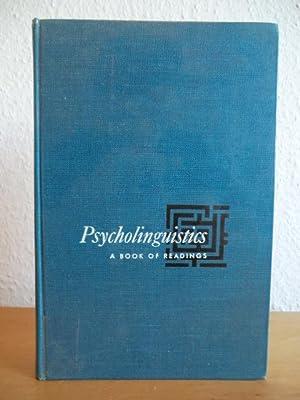 Psycholinguistics. A Book of Reading: Saporta, Sol