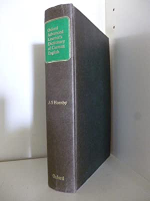 Oxford Advanced Learner's Dictonary of Current English: A. S. Hornby