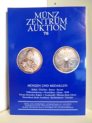 Münz Zentrum Auktion 76 am 10 November 1993