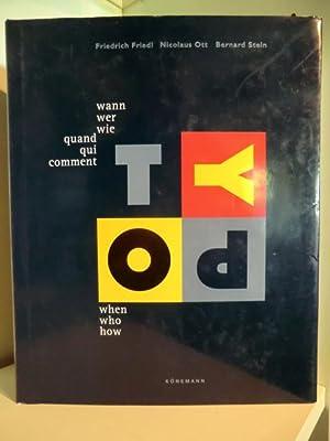 Wann, wer, wie - Typographie. Quand, qui,: Friedrich Friedl, Nicolaus