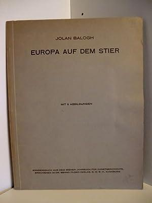 Europa auf dem Stier. Sonderdruck aus dem: Balogh, Jolan