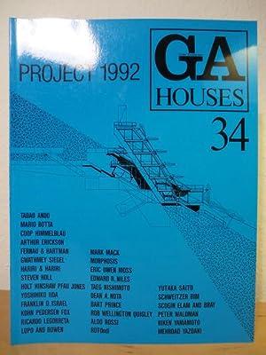 GA Houses 34 - Global Architecture -: Futagawa, Yukio (Publisher)
