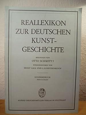 Reallexikon zur deutschen Kunstgeschichte. Sonderdruck (nicht im: Begonnen von Otto