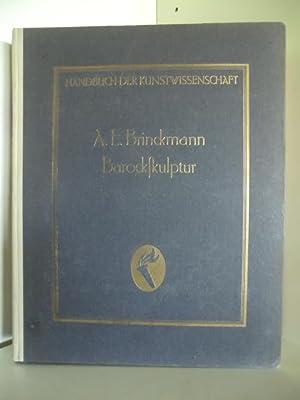Handbuch der Kunstwissenschaft. Barockskulptur.: Dr. E. a.