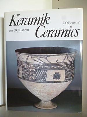 Keramik aus 5000 Jahren. Ceramics 5000 years: Adalbert Klein. Aufnahmen