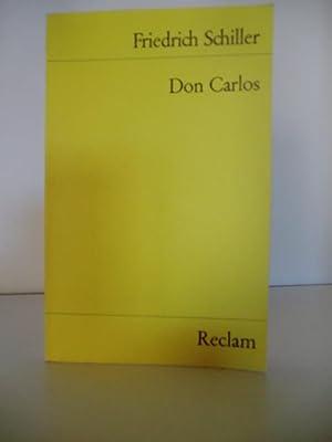 Don Carlos: Schiller, Friedrich
