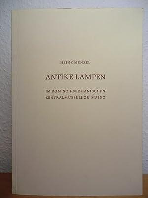 Antike Lampen im Römisch-Germanischen Zentralmuseum zu Mainz: Menzel, Heinz: