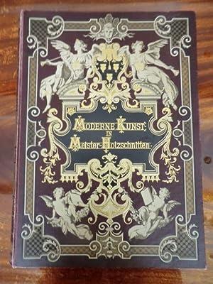 Moderne Kunst in Meister-Holzschnitten: Kein Verfasser angegeben