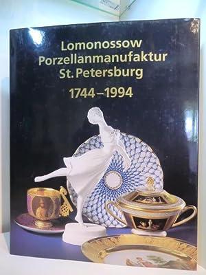 250 Jahre Lomonossow-Porzellanmanufaktur St. Petersburg 1744 -: Agarkowa, Galina D.