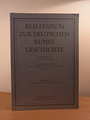 Reallexikon zur deutschen Kunstgeschichte. Lieferung 107: Flocktapete: Zentralinstitut für Kunstgeschichte
