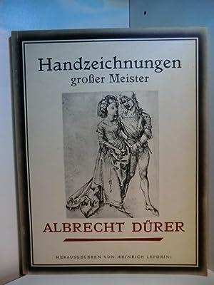 Handzeichnungen grosser Meister. Albrecht Dürer. 24 Kupfertiefdrucke: Reichel, Anton und