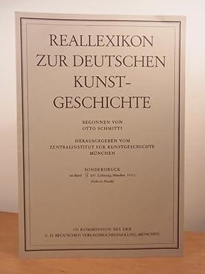 Flasche. Kunsthistorischer Aufsatz. Sonderdruck aus Reallexikon zur: Jedding, Hermann und