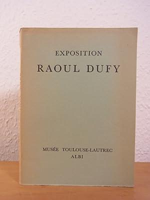 Raoul Dufy. Peintures, Aquarelles dessins, tapisseries. Exposition: Huisman, Georges und