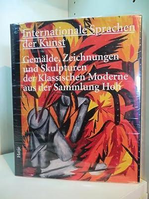 Internationale Sprachen der Kunst. Gemälde, Zeichnungen und: Peters, Ursula, Susanne