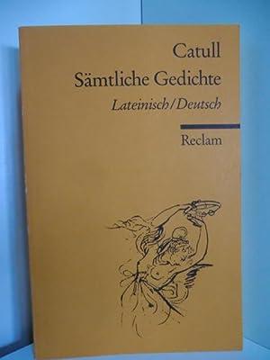 Catullus Catull Gedichte Lateinisch Zvab