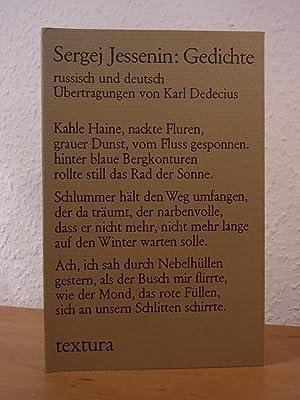 Jessenin Gedichte Russisch Deutsch Zvab