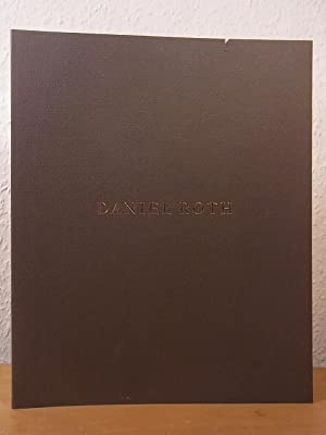 Daniel Roth. Masterpieces in the Art of Watchmaking since 1989. Catalogue, signed by Watchmaker D...