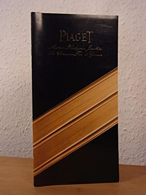 Piaget. Maîtres - Horlogers - Joailliers. Catalogue No. 26. With Price-Lists May 1983 and Decembe...